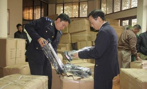 Hải quan Quảng Ninh liên tiếp phát hiện bắt giữ đồ chơi trẻ em nhập lậu