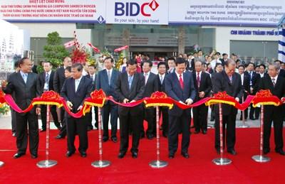 """BIDC nhận Giải thưởng  """"Ngân hàng có tốc độ tăng trưởng triển vọng nhất"""