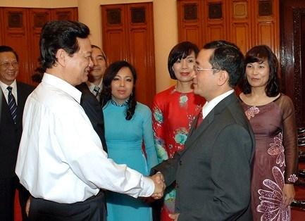Thủ tướng Nguyễn Tấn Dũng tiếp các Đại sứ, Tổng Lãnh sự mới được bổ nhiệm