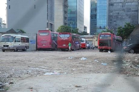 """Hà Nội quyết xử lý triệt để """"bến xe ngầm"""" sau bến xe Mỹ Đình"""