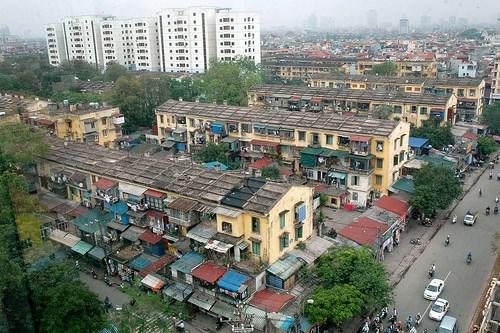 Thêm nhiều doanh nghiệp được tham gia xây dựng lại chung cư cũ