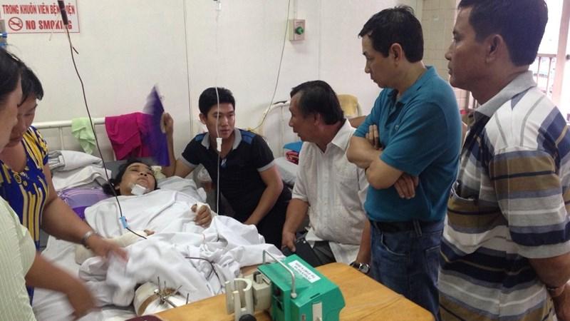 Bảo hiểm Bảo Việt hỗ trợ khách hàng trong vụ tai nạn cao tốc Trung Lương