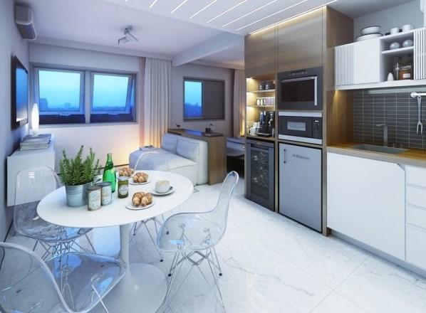 Thiết kế những căn hộ xinh xắn dưới 30m2