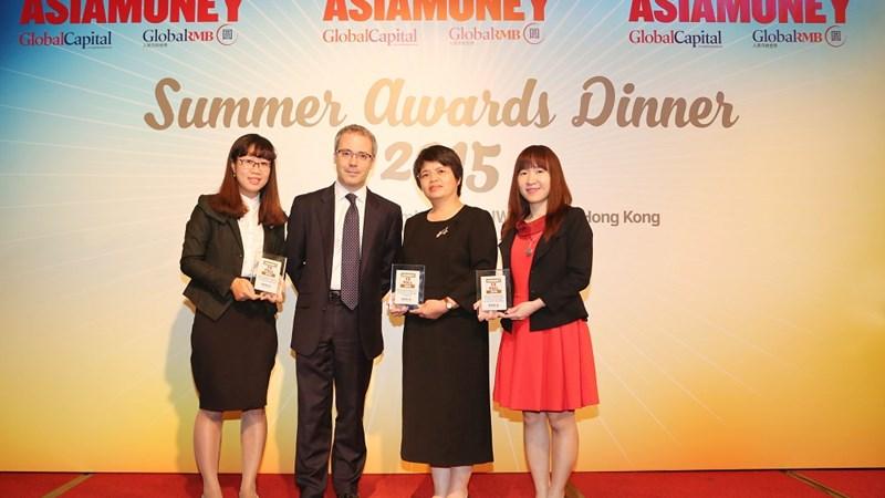 BIDV đạt giải thưởng Ngân hàng nội địa cung cấp dịch vụ ngoại hối tốt nhất Việt Nam