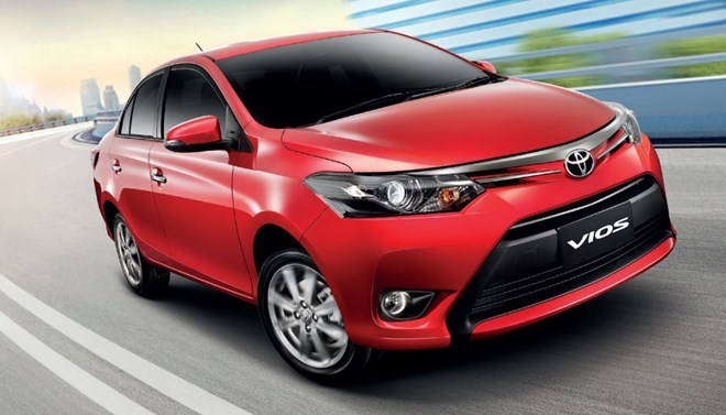 5 mẫu xe ô tô bán chạy nhất tháng 9/2015