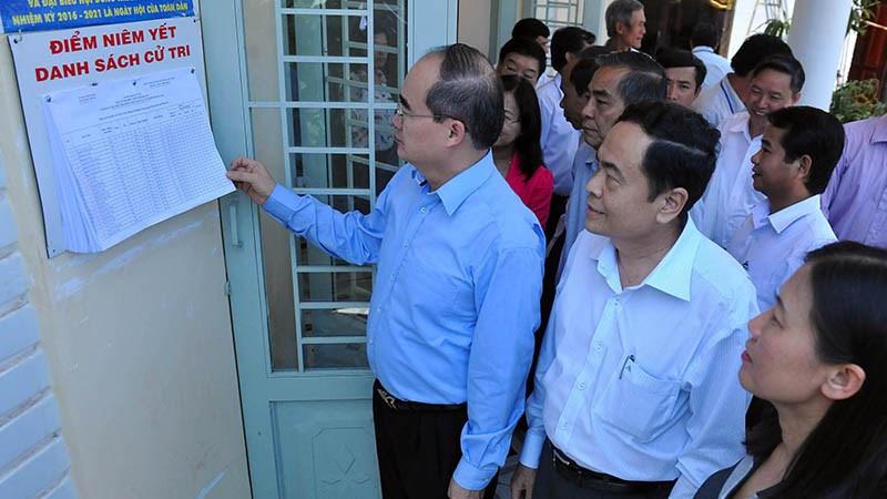 Hội đồng Bầu cử Quốc gia tham gia giám sát, kiểm tra công tác bầu cử tại Đồng Nai
