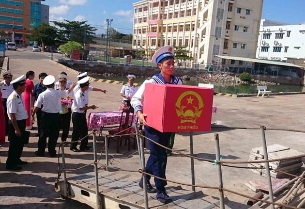 Bà Rịa -Vũng Tàu tổ chức bầu cử sớm cho 47 điểm trên biển