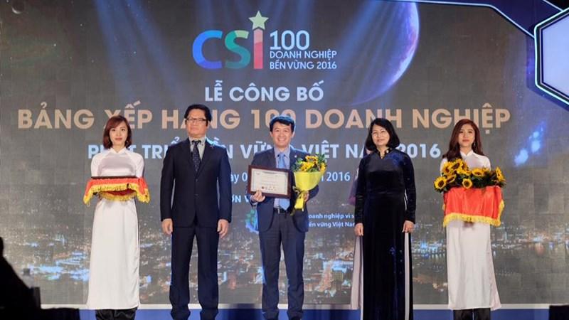 Bảo Việt ghi tên trong Top 10 Doanh nghiệp Bền vững xuất sắc nhất Việt Nam 2016