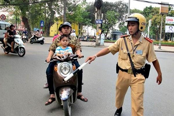 9 lỗi vi phạm giao thông bị phạt từ ngày 1/1/2017