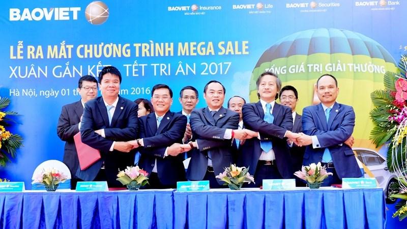 Bảo Việt cán mốc doanh thu 1 tỷ USD trước hạn