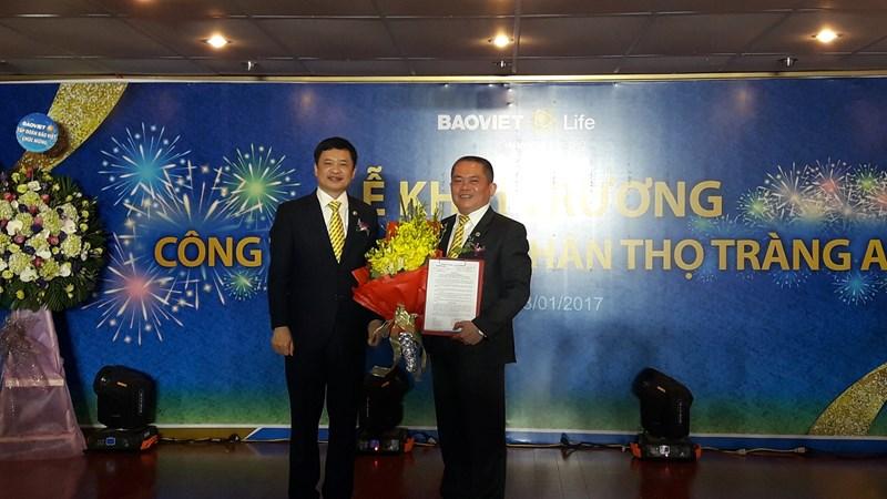 Bảo Việt Nhân thọ khai trương Công ty thành viên Bảo Việt Nhân thọ Tràng An