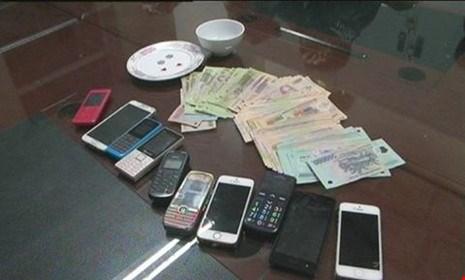 Triệt phá ổ cờ bạc liên tỉnh