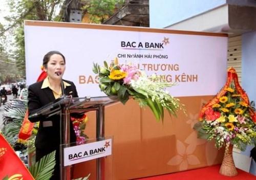 BAC A BANK tiếp tục mở rộng mạng lưới tại Hải Phòng và Huế