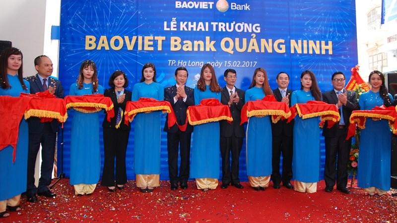BAOVIET Bank khai trương chi nhánh tại Quảng Ninh