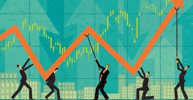 Các chỉ số của HNX-Index đồng loạt tăng điểm trong tháng 2