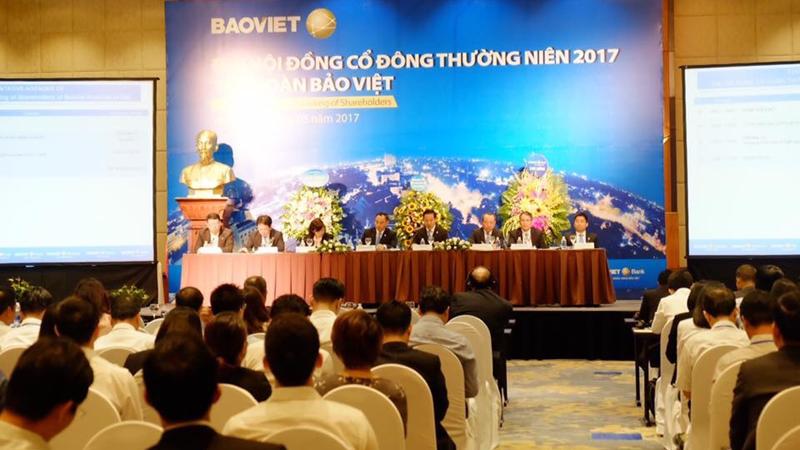 Năm 2017, Bảo Việt đặt kế hoạch doanh thu hợp nhất 28.876 tỷ đồng