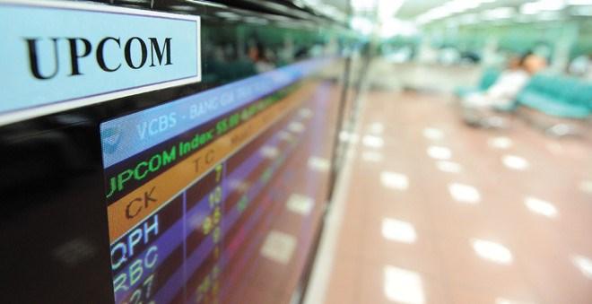 UPCoM: Giá trị vốn hóa tăng 296% so với cùng kỳ năm trước