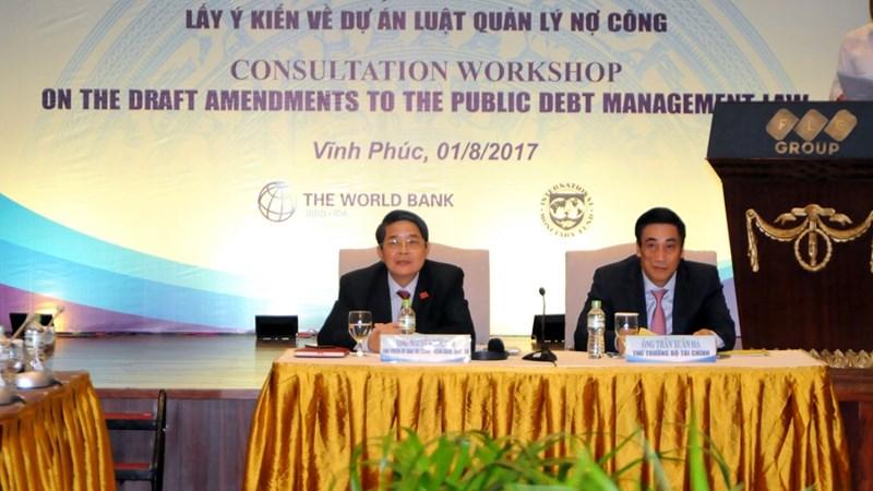 Hội thảo lấy ý kiến về Dự án Luật Quản lý nợ công