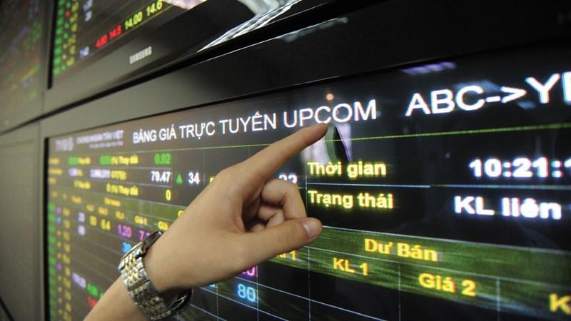 Tháng 8, UPCoM có 221,42 triệu cổ phiếu chuyển nhượng
