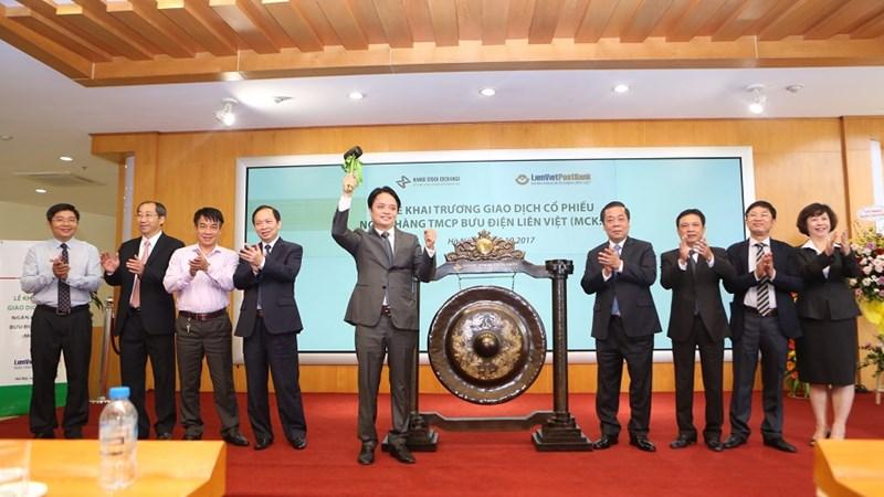 646 triệu cổ phiếu LienVietPostBank giao dịch trên UPCoM từ ngày 5/10