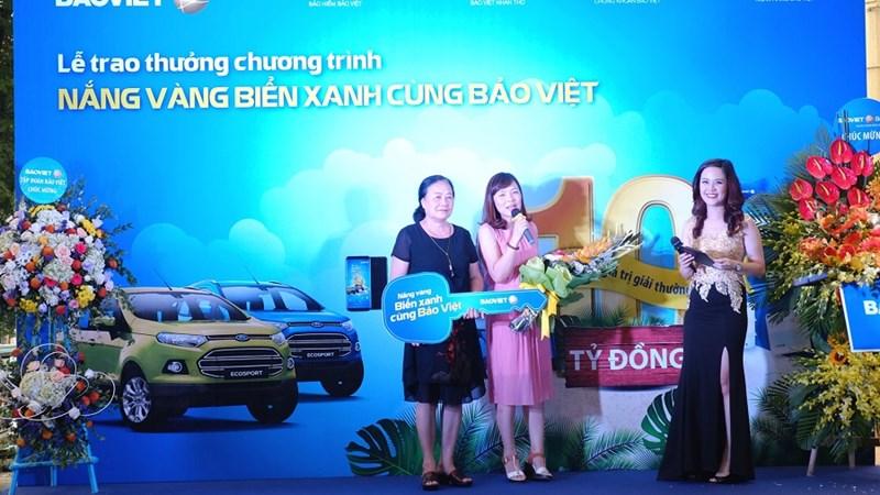 Bảo Việt tiếp tục trao thưởng ô tô cho khách hàng