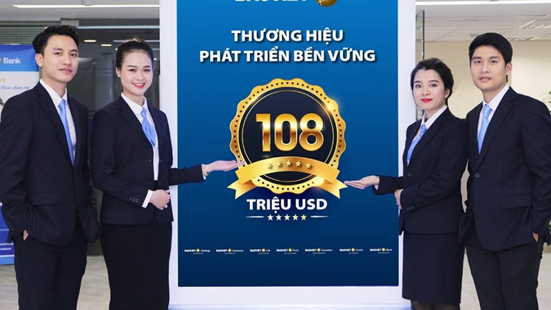 Bảo Việt: Giá trị vốn hóa đạt 2,5 tỷ USD, doanh thu ước đạt gần 1,5 tỷ USD