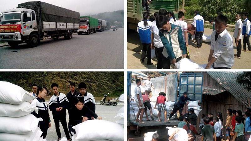 Bộ Tài chính sẽ xuất cấp gạo hỗ trợ cứu đói dịp Tết Nguyên đán