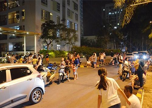 Chưa hết bàng hoàng vụ hỏa hoạn Carina, TP. Hồ Chí Minh lại cháy chung cư