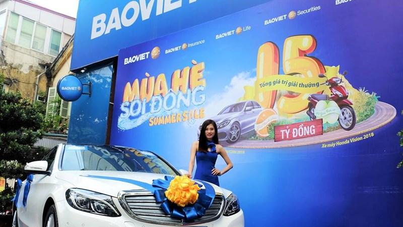 """Khách hàng Bảo Việt có cơ hội trúng Mercedes-Benz C200 trong Chương trình """"Mùa hè sôi động"""""""