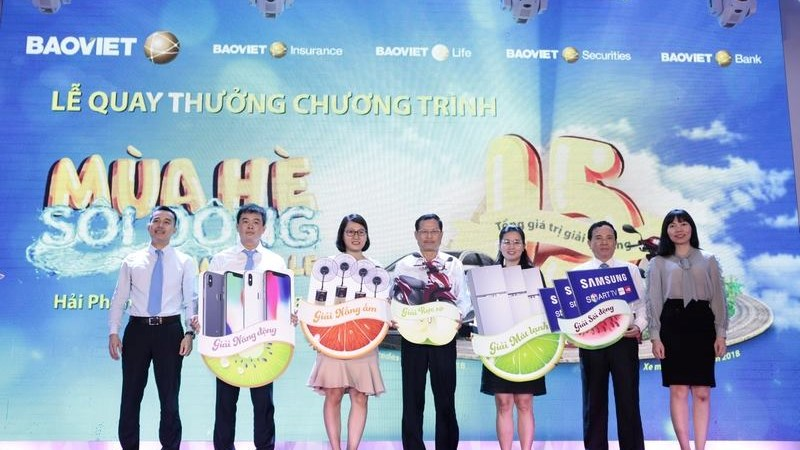 """Bảo Việt trao hơn 88.000 cơ hội trúng thưởng tại đợt 1 chương trình """"Mùa hè sôi động"""""""