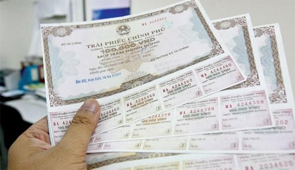 Kho bạc Nhà nước huy động được 4.500 tỷ đồng trái phiếu chính phủ