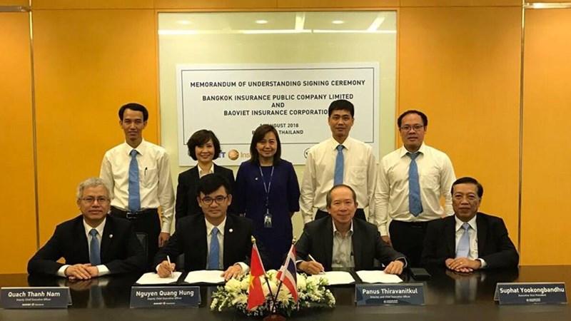 Bảo hiểm Bảo Việt ký kết hợp tác phát triển hoạt động bảo hiểm thương mại với Bangkok Insurance