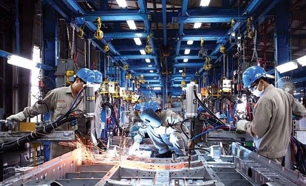 10 tháng năm 2018, chỉ số sản xuất toàn ngành công nghiệp ước tính tăng 10,4%