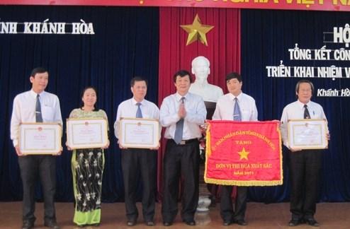 Cục Thuế tỉnh Khánh Hòa: Giữ vững danh hiệu Đơn vị Anh Hùng