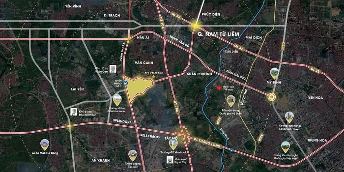 Nhà đầu tư tìm kiếm cơ hội đầu tư thắng lớn tại phía tây Hà Nội