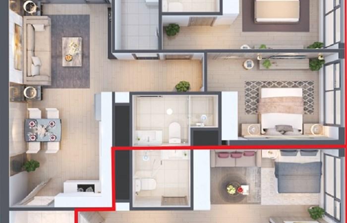Đầu tư cho thuê vượt trội cùng căn hộ hai chìa khóa – Dual Key