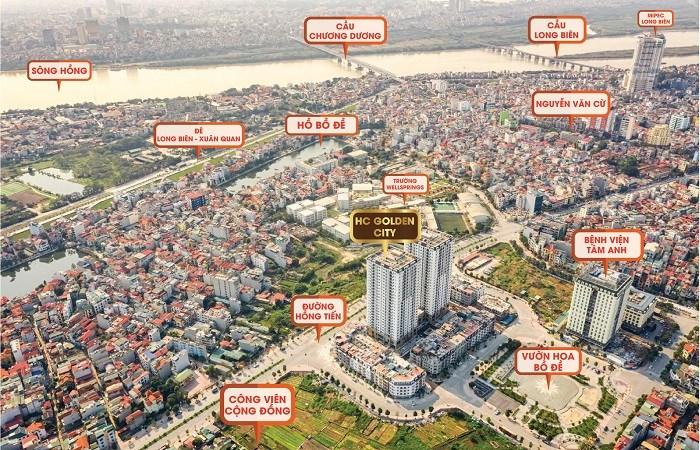 Mục sở thị dự án siêu sang sắp bàn giao tại Long Biên