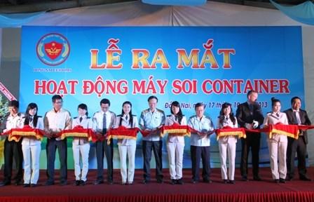 Vận hành máy soi container hiện đại bậc nhất tại Hải quan Đồng Nai