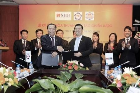 SHB hợp tác với 2 Công ty ngành xây dựng