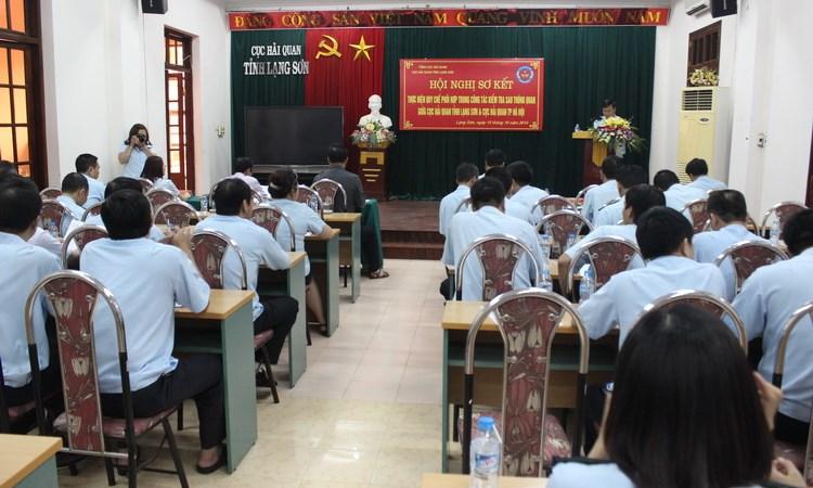 """Hải quan Hà Nội- Lạng Sơn: Phối hợp nâng cao năng lực """"hậu kiểm"""""""