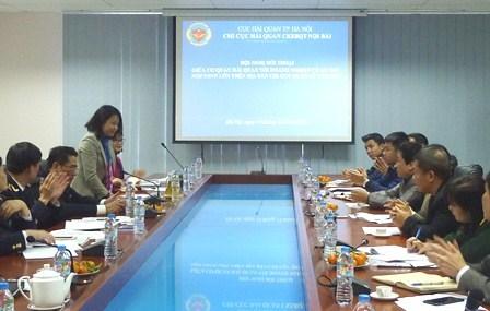 Hải quan Nội Bài đối thoại với doanh nghiệp có số thu lớn