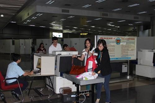 Hệ thống một cửa hàng không tại Nội Bài thông suốt
