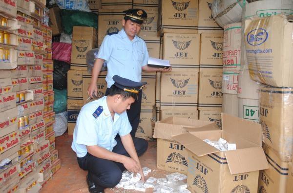 Hải quan Quảng Trị thu giữ 40.370 bao thuốc lá lậu