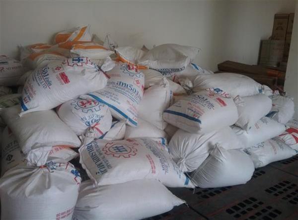 Quảng Trị: Phát hiện hơn 8 tấn đường kính trắng nhập lậu