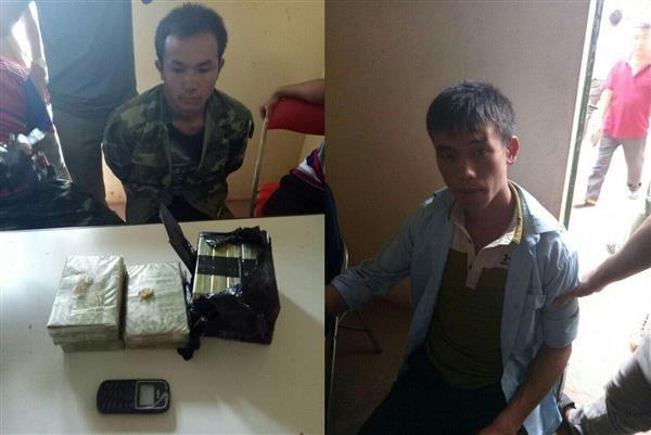 Lực lượng Hải quan chủ trì bắt giữ 10 bánh heroin