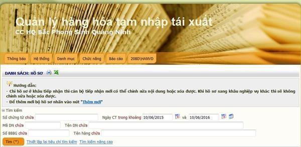 Hiện đại hóa phần mềm quản lý hàng hóa chuyển cửa khẩu ở Quảng Ninh