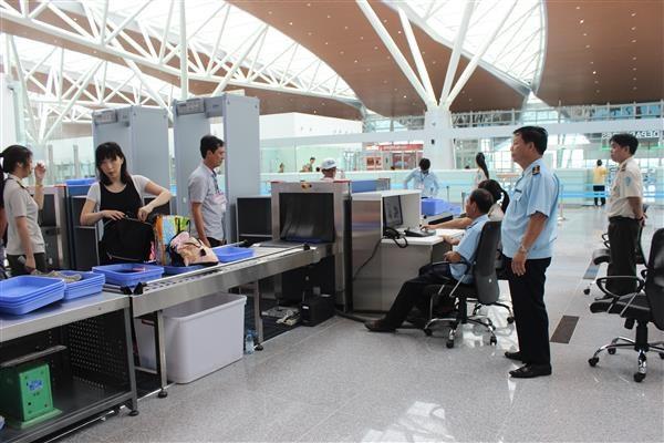 Hải quan sân bay quốc tế Đà Nẵng sẵn sàng cho Tuần lễ cấp cao APEC 2017