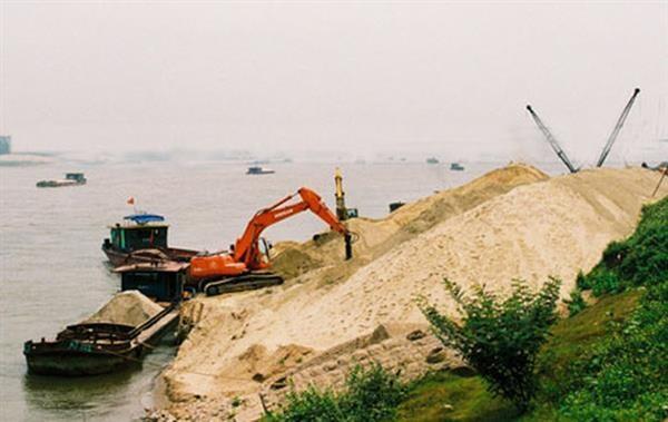 Không dừng việc đưa cát nội địa vào khu chế xuất