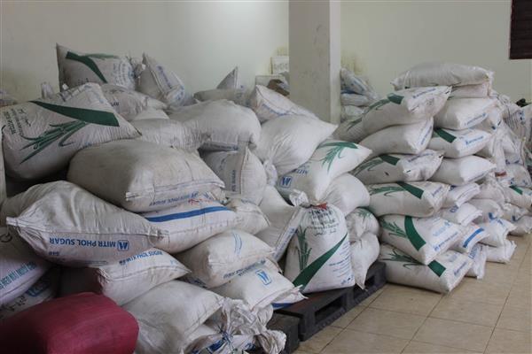 Hải quan Quảng Trị thu giữ 3,4 tấn đường Thái Lan nhập lậu