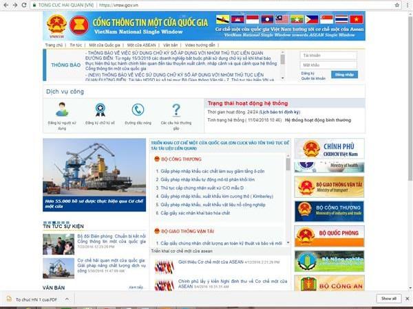 Hải quan lập Tổ phát triển Cơ chế một cửa quốc gia